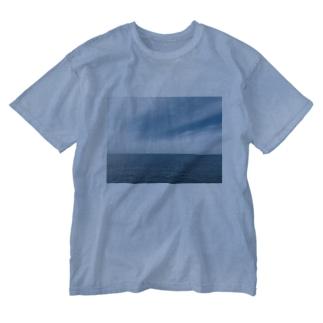 真玉海岸 Washed T-shirts