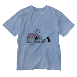 Stay dog house Washed T-shirts