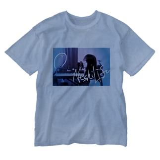 ねしらいふ。Tシャツ(Ver.01) Washed T-shirts