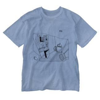 👻📗のかもめD-Tシャツ Washed T-shirts