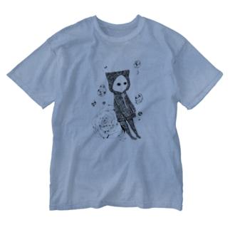 好きな人が幸せならそれで。 透けないタイプ Washed T-shirts