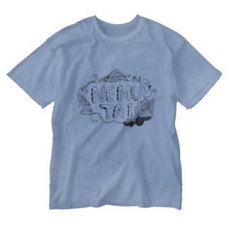 NEMUTAI Washed T-shirts