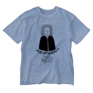 ヨハン・セバスチャン・バッハ Washed T-shirts