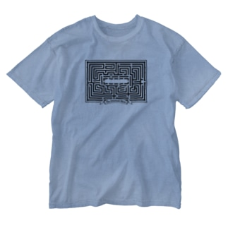 stereovisionのOverlook Hotel Maze Map Washed T-shirts