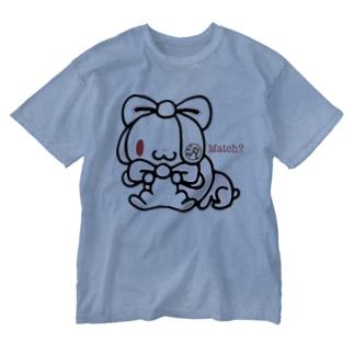 【各20点限定】汎用うさぎ(#2) Washed T-shirts