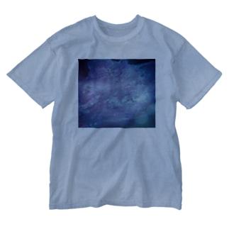suparnaの青の世界 Washed T-shirts