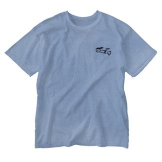 gricoRodriguezのまゆむし Washed T-shirts