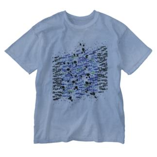 変化点 Washed T-Shirt