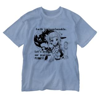 SORA・SIDO Tシャツ Washed T-shirts