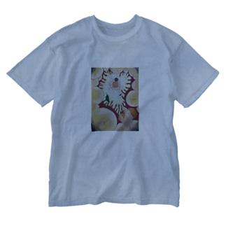 極まる Washed T-shirts