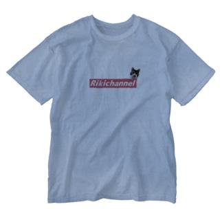 リキちゃんBOXROGOシリーズ Washed T-shirts