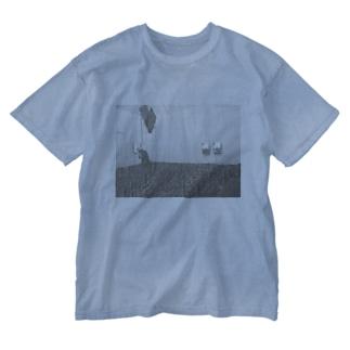 munyamunyaのkabegami Washed T-shirts