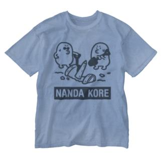 なんだこれ Washed T-shirts