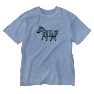 シマシマくん Washed T-shirts