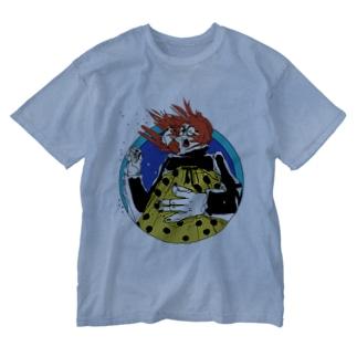 エア〜ギタ〜 Washed T-shirts