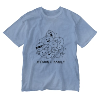 Vitamin C Family Washed T-shirts