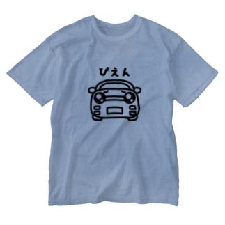 じーあーるこぴぇん Washed T-shirts