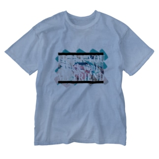 視界はクリア Washed T-shirts