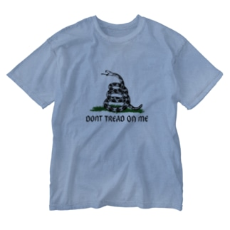Dont Tread On Me Gadsden Flag Washed T-shirts