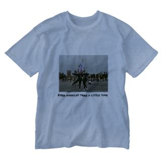 Mちゃんのおそろしゃつ Washed T-shirts