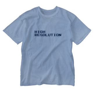 牛のTシャツ屋のHIGH RESOLUTION Washed T-shirts