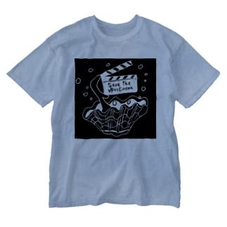 石垣島の移動映画館ゆいシネマ応援!オリジナルグッズ販売店のゆいシネマ応援オリジナルグッズ Washed T-shirts