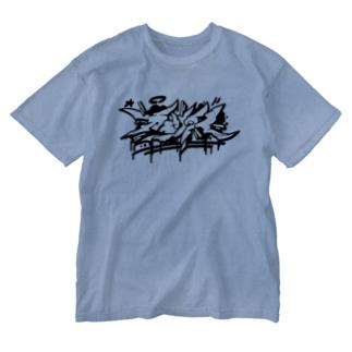 カエリタイ Washed T-shirts
