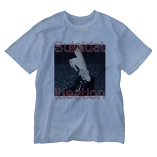 Suicidal ideation Washed T-shirts