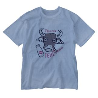 CT78水牛くんB*A Washed T-shirts