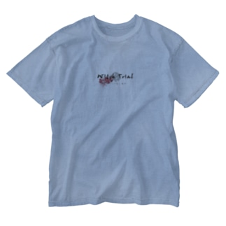 『Witch Trial 卒業ライブ殺人事件』ロゴ Washed T-shirts