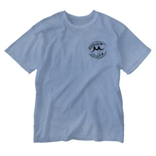 みしろ Washed T-shirts