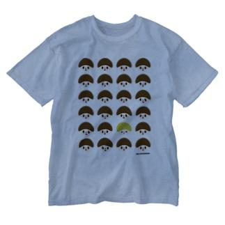 どんぐりくん Washed T-shirts
