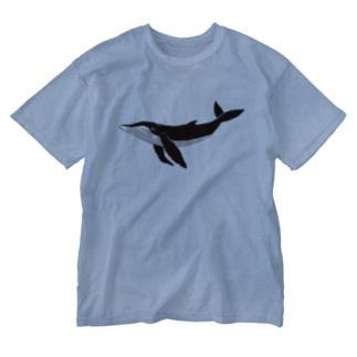 minachape STOREのザトウクジラ Washed T-shirts