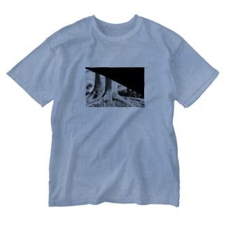 フィルム破れ記念Tシャツ Washed T-shirts