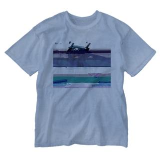 グリッチセーラーちゃん Washed T-shirts