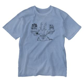 鹿人 Washed T-shirts