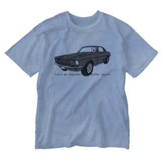 クラシックカー Washed T-shirts
