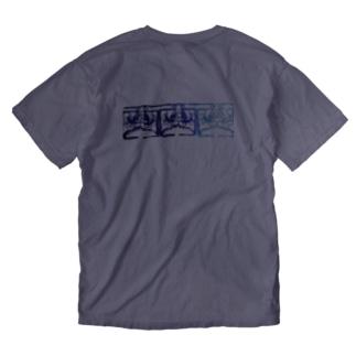 Blue山(Yupa) Washed T-shirts