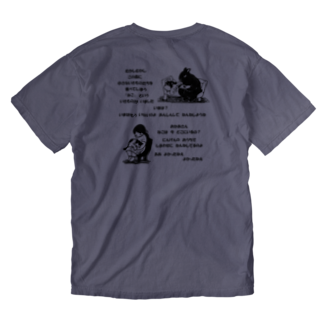 nonaの森の物語 Washed T-shirtsの裏面