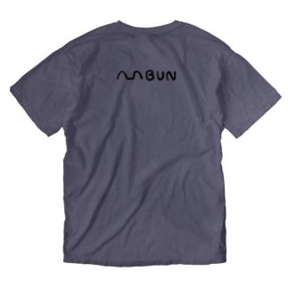 machsakai-bunta-コラボグッズ Washed T-shirts