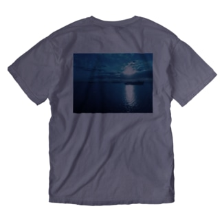 Power Moon Washed T-shirts