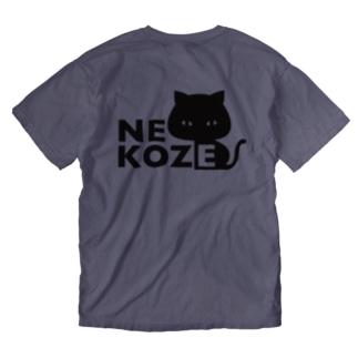 猫背 Washed T-shirts