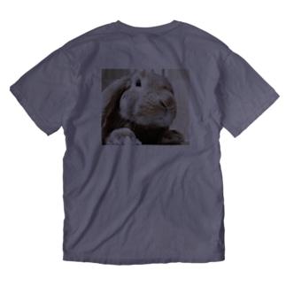 こむぎ Washed T-shirts