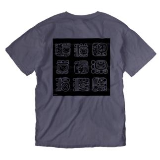 アステカ Washed T-shirts
