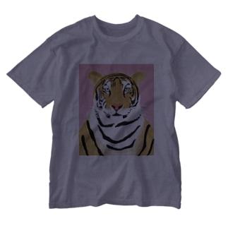 トラ Washed T-shirts