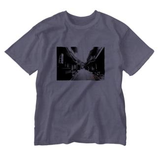 モノクロ Washed T-shirts