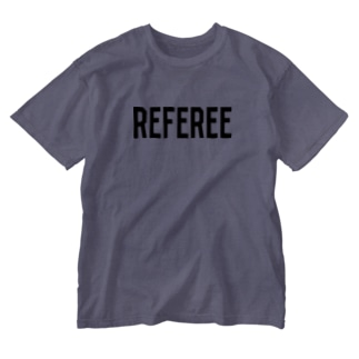 REFEREE レフェリーロゴ Washed T-shirts