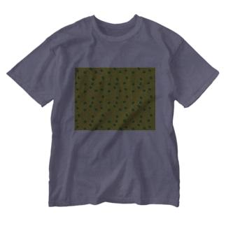 お茶畑くん Washed T-shirts