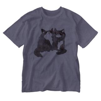 ずっと一緒♡ Washed T-shirts