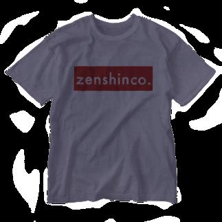 zenshinco.recordのzenshinco-xx07 Washed T-shirts